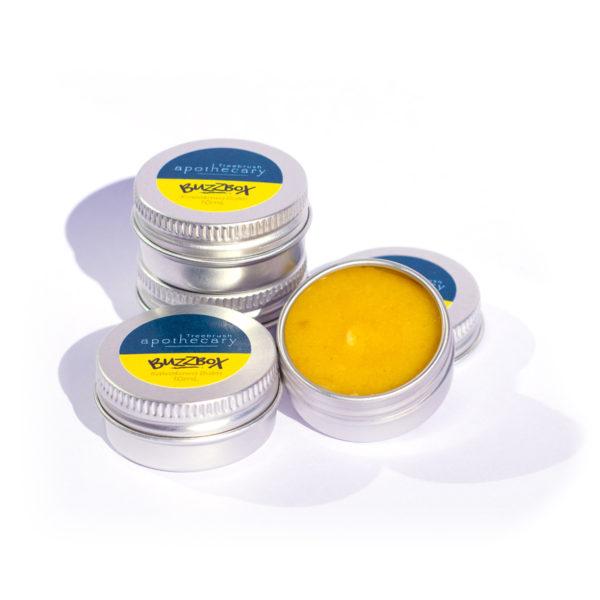Buzzbox Barrier Balm, 10mL Mini tin